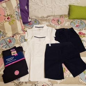 Girls uniform lot size 8